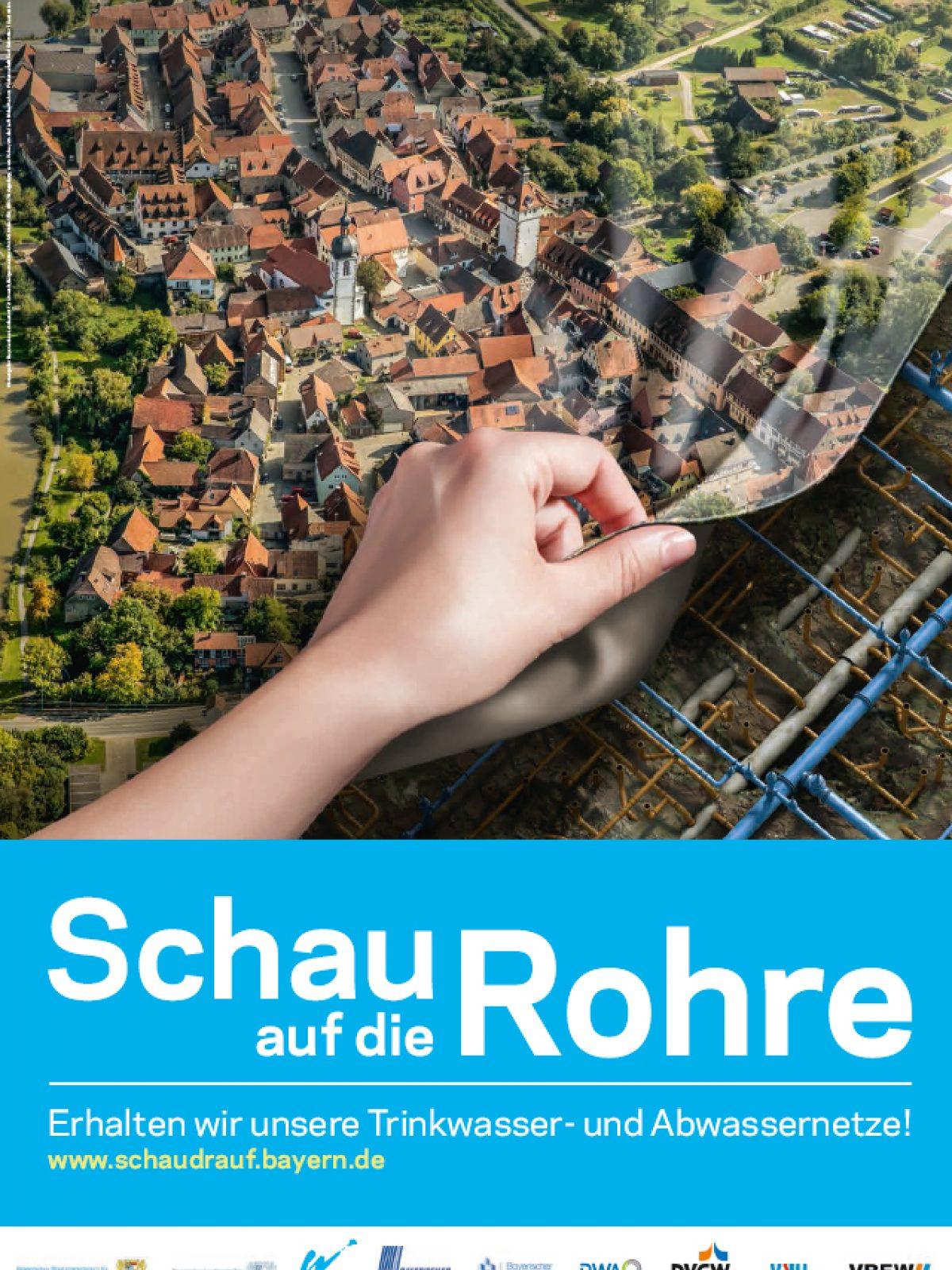 Plakat Kleinstadt
