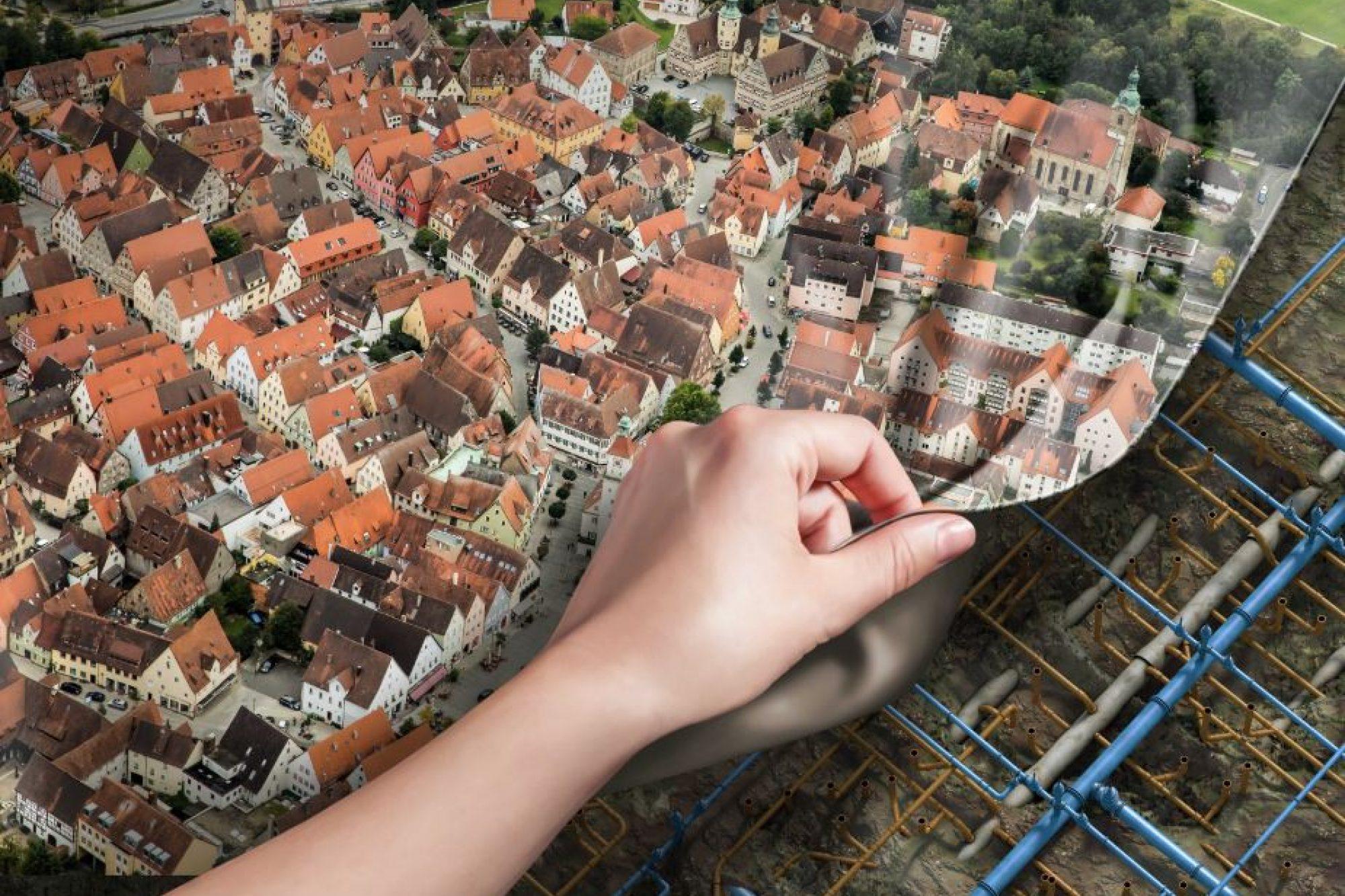 Hersbruck Luftbild Klein