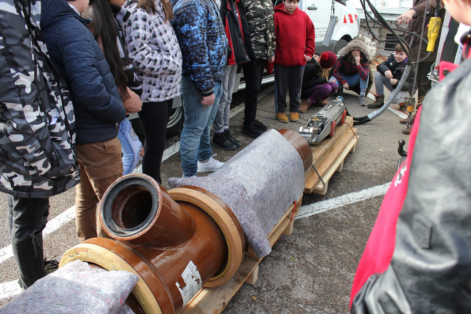 Schau Drauf Schwabach Ausstellung Kanalroboter C Tatwort