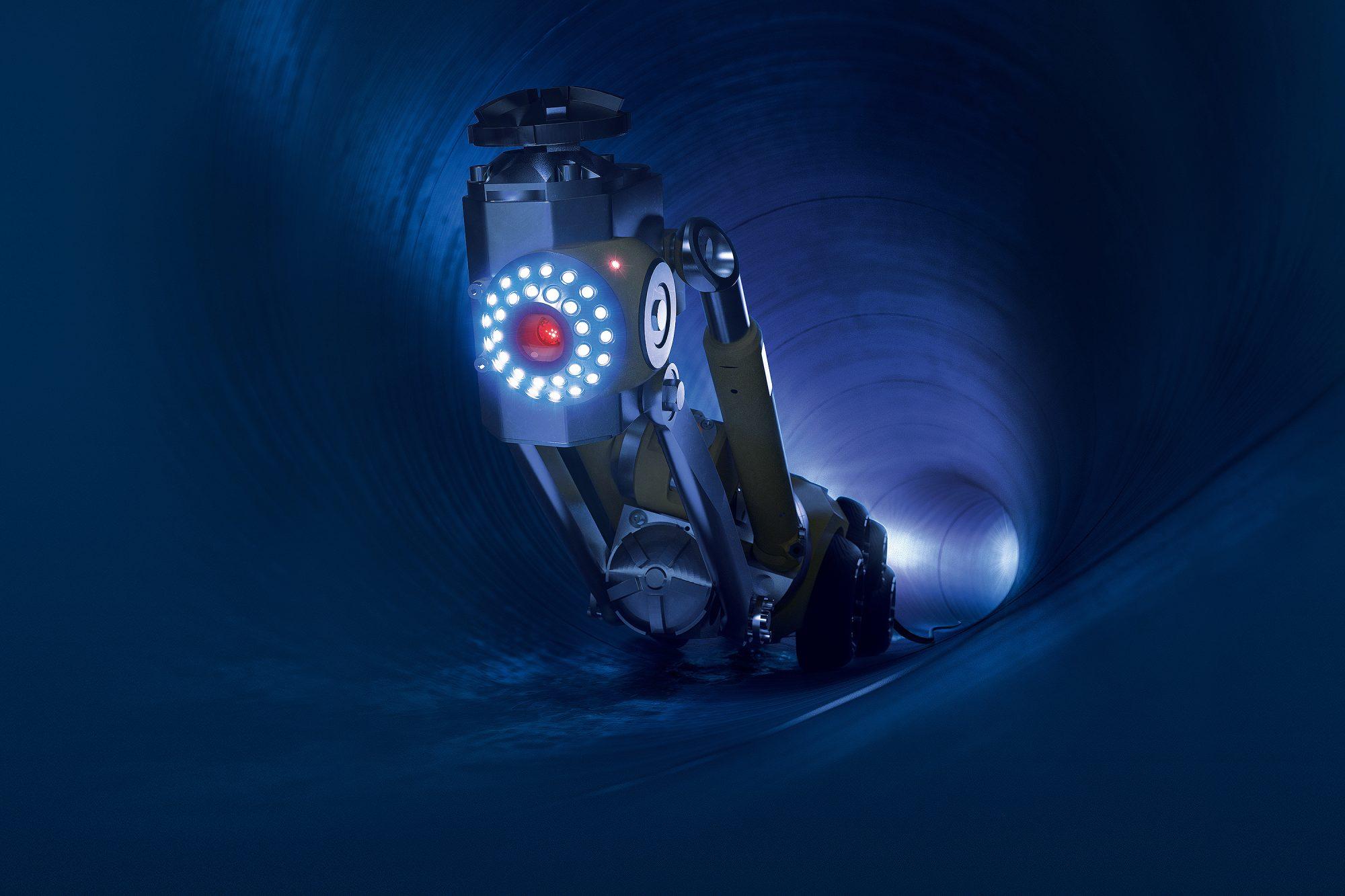 Kanalroboter (Firma Faulhaber)