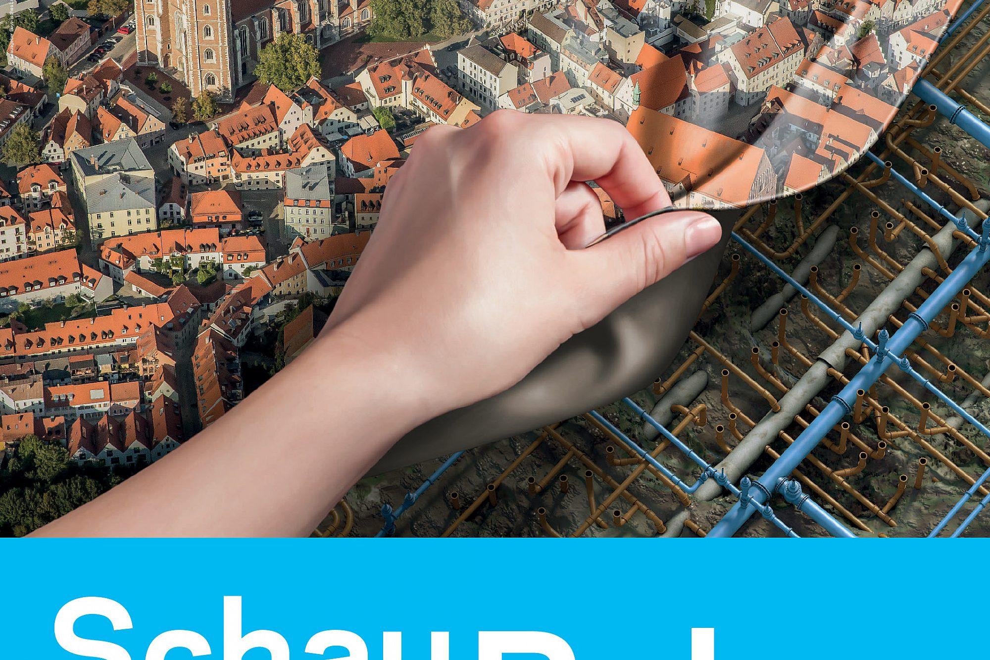 Schau Auf Die Rohre Luftbild Ingolstadt